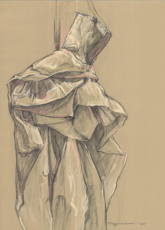 Sue Gussow Dance Gown, 2013. Gracieuseté de FRONT art space.
