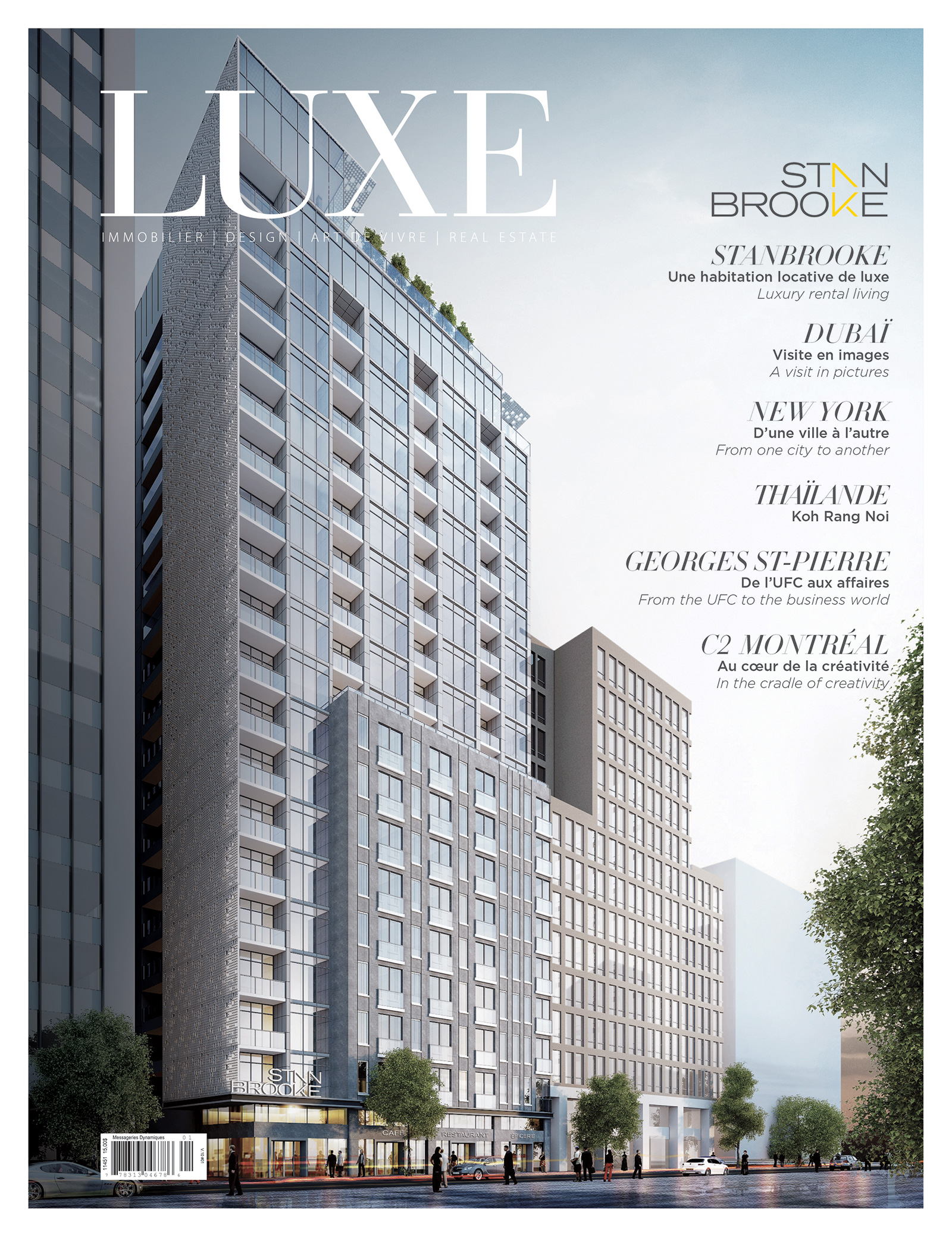 Cover Luxe Spring-summer 2018