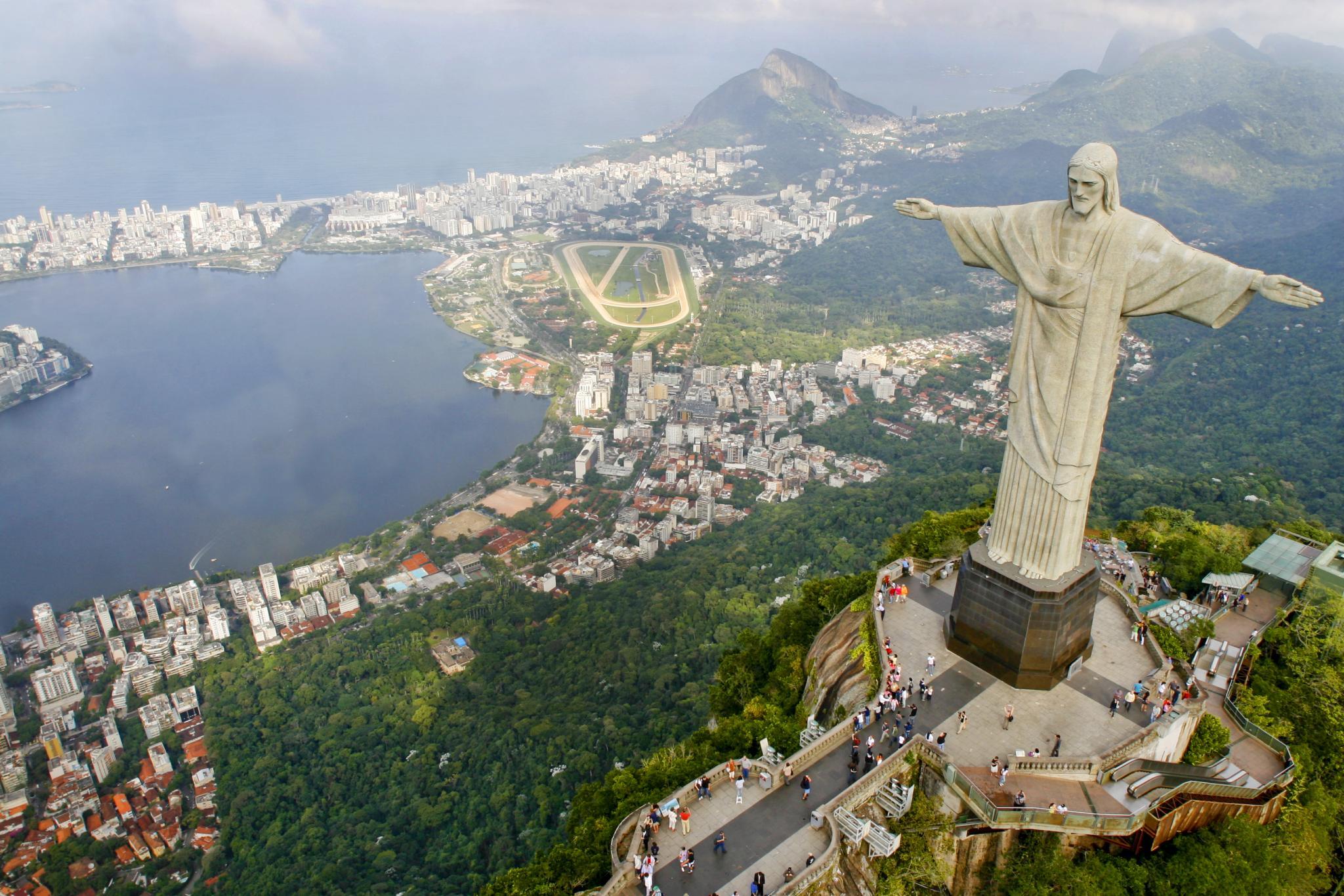 Le Christ RÇdempteur et sa vue panoramique sur Rio- Photo Pedro KirilosRiotur