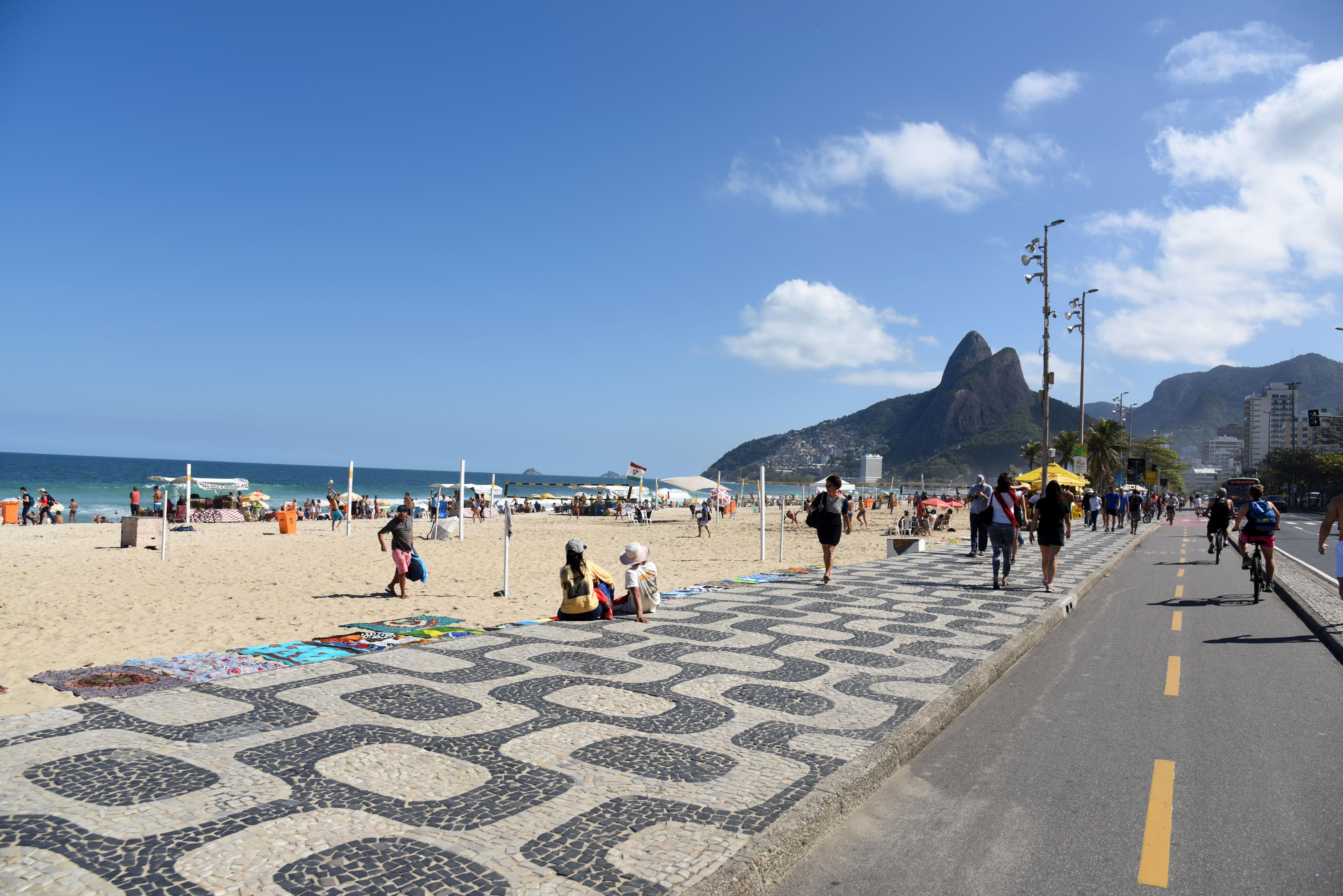 Praia de Ipanema - Rio de Janeiro - Foto Alexandre Macieira Riotur
