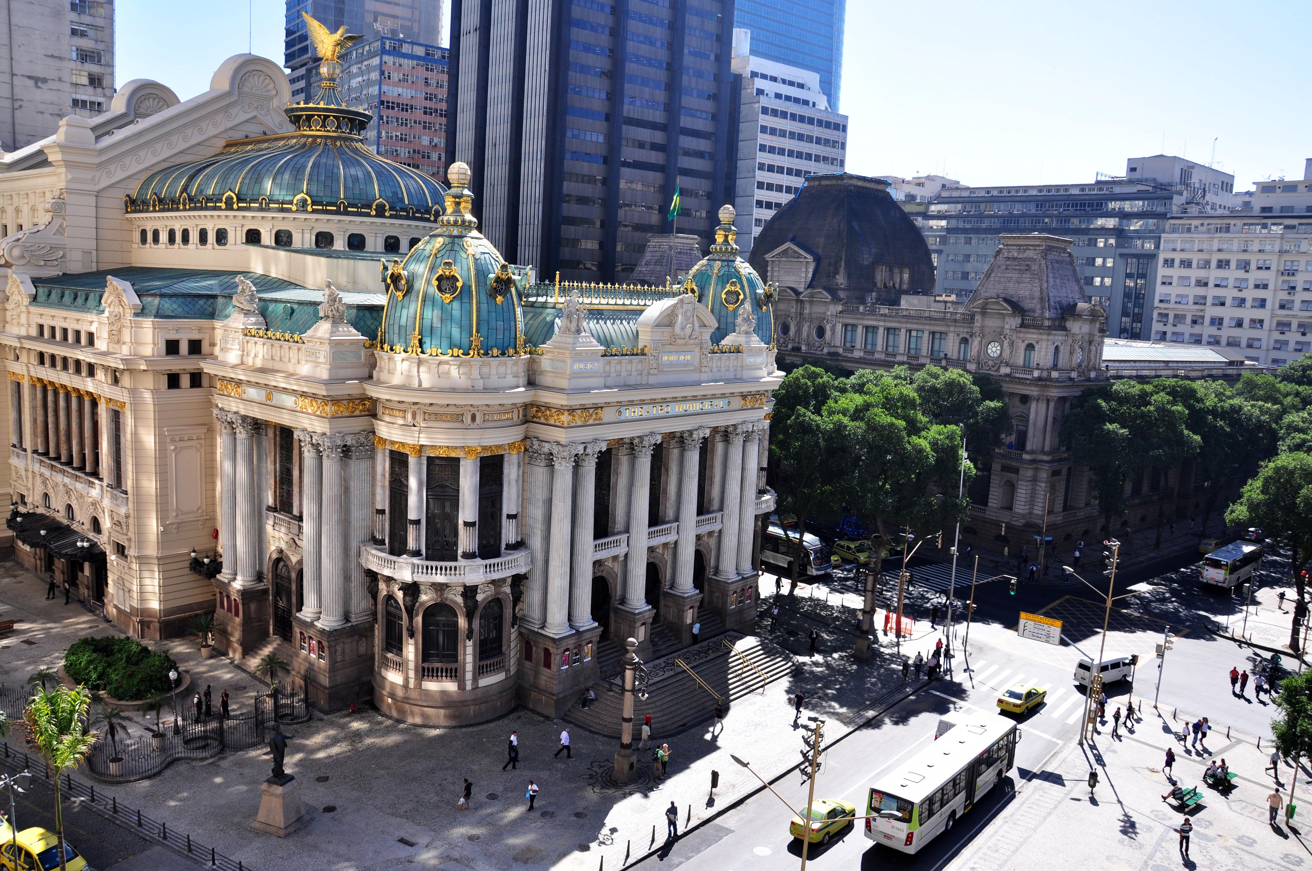 Theatro Municipal do Rio de Janeiro - Foto Alexandre Macieira Riotur