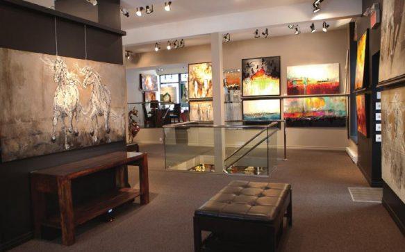 Les galeries d'art Beauchamp