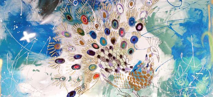 Bien connu JESKA, une artiste peintre en pleine ascension! – MAGAZINE LUXE  SI63