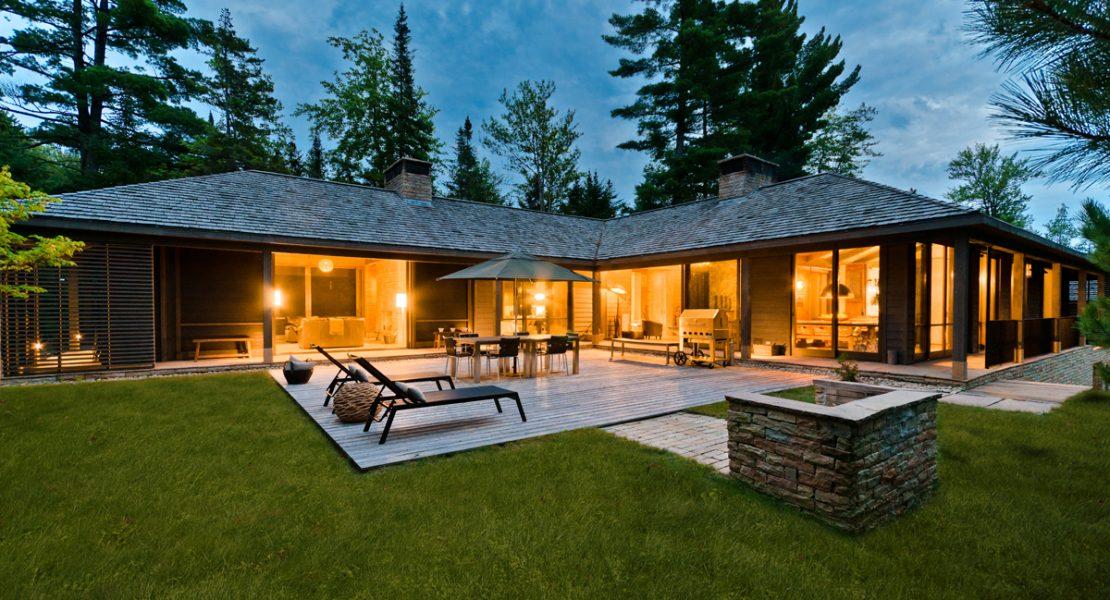 un havre de paix aux creux de la nature magazine luxe immobilier i design i art de vivre. Black Bedroom Furniture Sets. Home Design Ideas