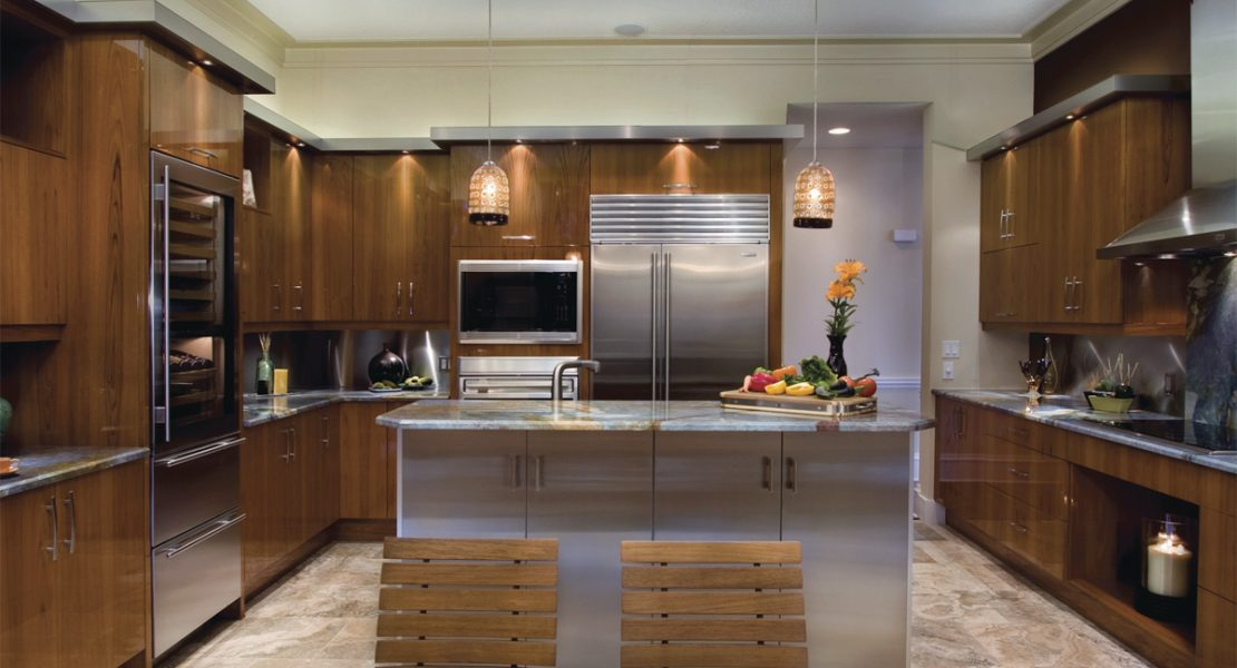 cuisines laurier le secret d un int rieur unique luxe magazine real estate i design i art. Black Bedroom Furniture Sets. Home Design Ideas