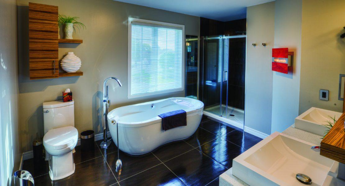 L\'art du bain - Salle d\'eau et salle de bain - MAGAZINE LUXE ...