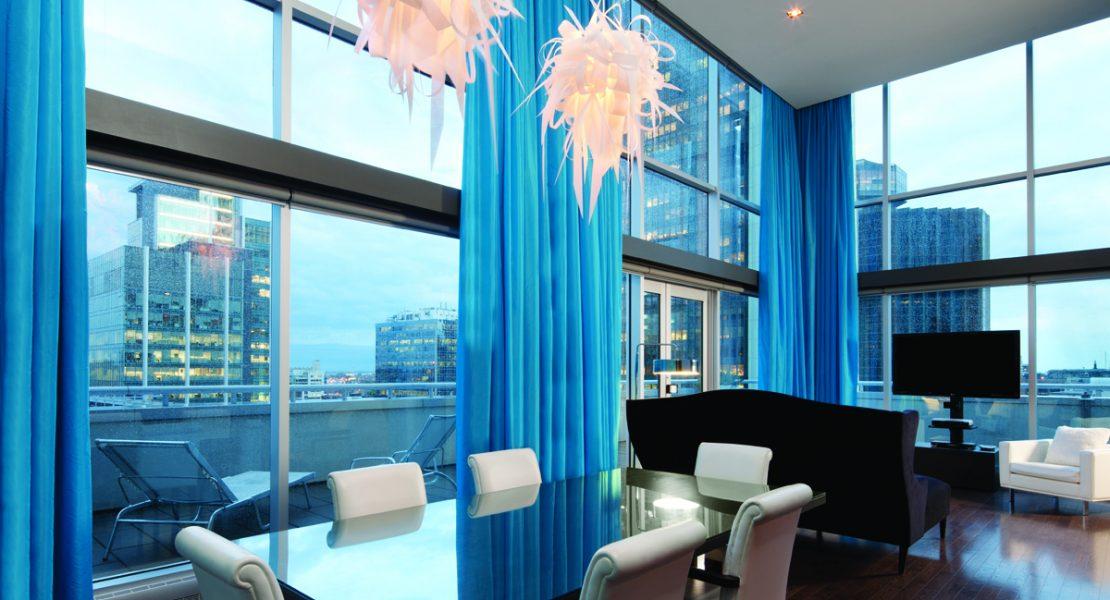 L h tel w montr al luxe magazine real estate i design for Hotel design montreal