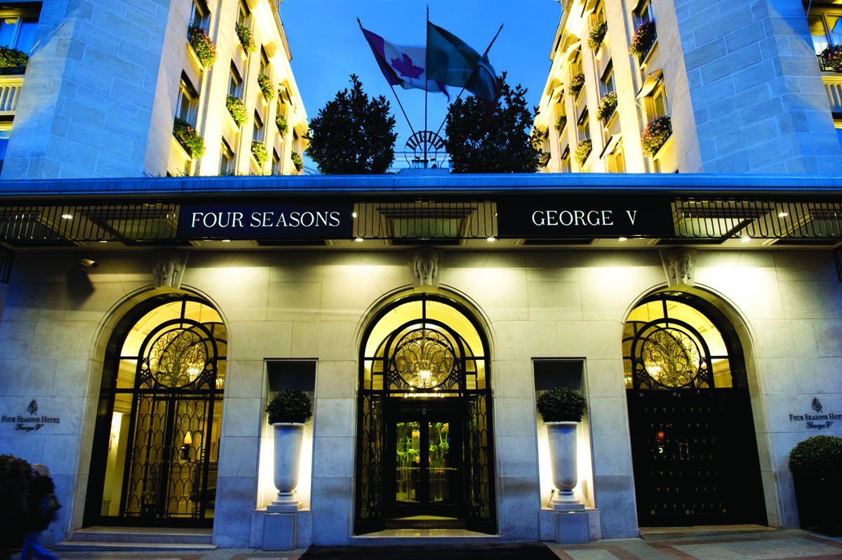 Le Four Seasons George V Magazine Luxe Immobilier I
