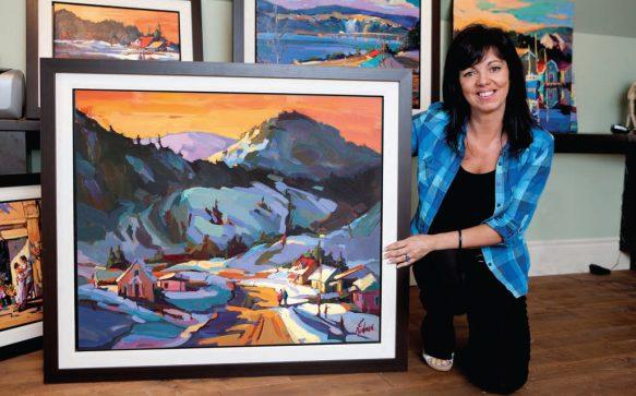 Christine Nadeau, artiste peintre