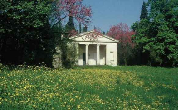 La villa Tempietto : le temple de la tranquillité
