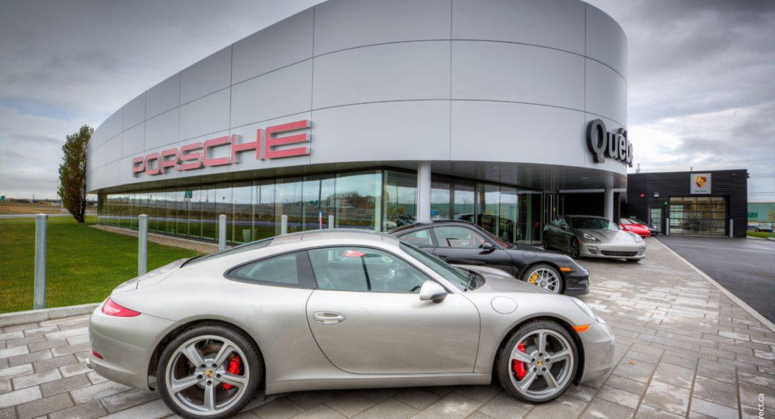 Un nouveau centre Porsche à Québec!