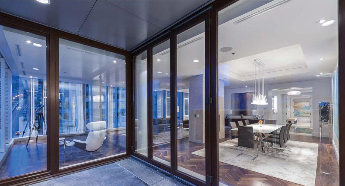 Fen tres mq magazine luxe immobilier i design i art de for Fenetre president