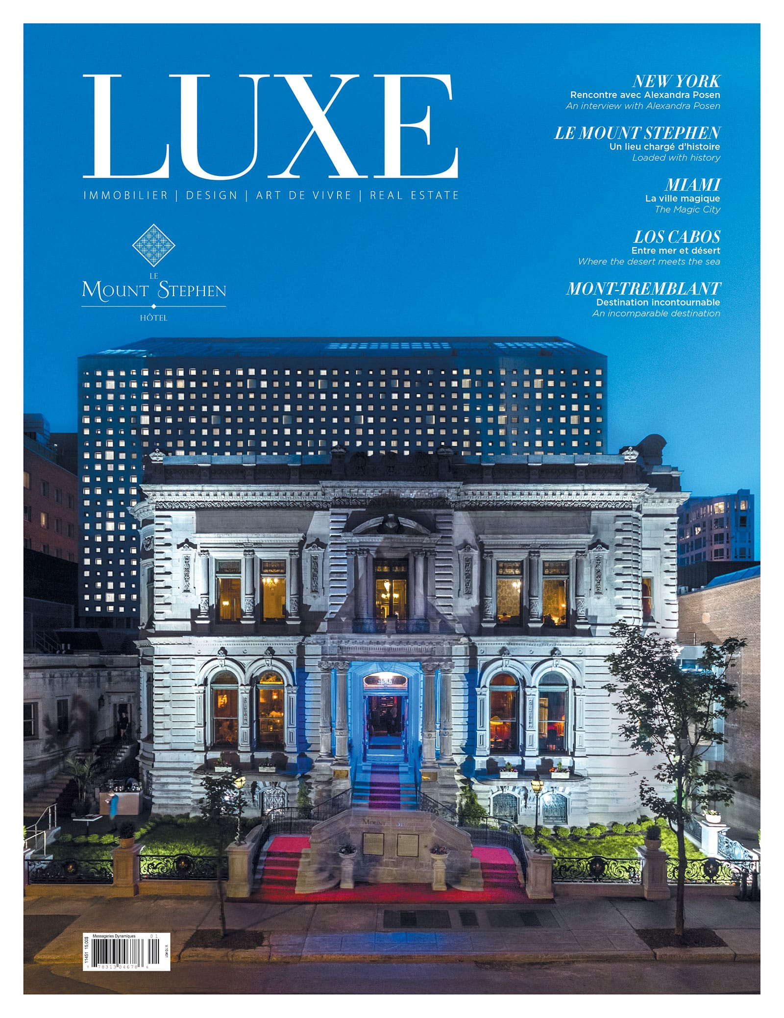 Cover Luxe Winter 2018