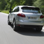 Cayenne Diesel rear