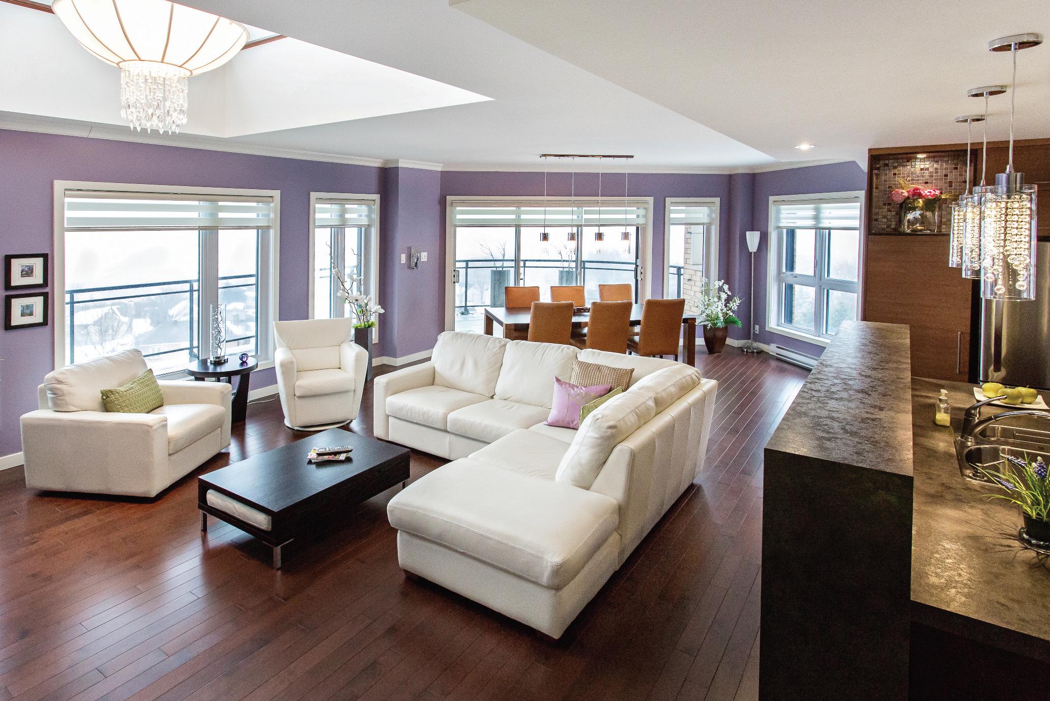 Un appartement luxueux surplombant qu bec magazine luxe immobilier i desi - Temperature dans un appartement ...