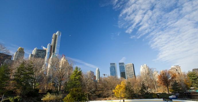 New York, vue panoramique sur Cental Park