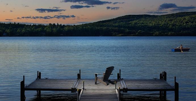 RIPPLECOVE, hôtel sur le lac