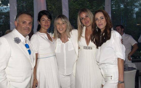 Seventh Notte In Bianco for the Guzzo Foundation