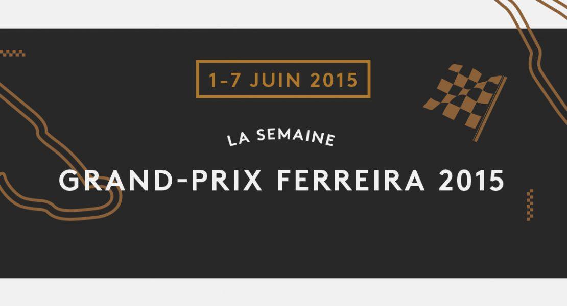 La fièvre du Grand Prix s'empare du Ferreira Café!