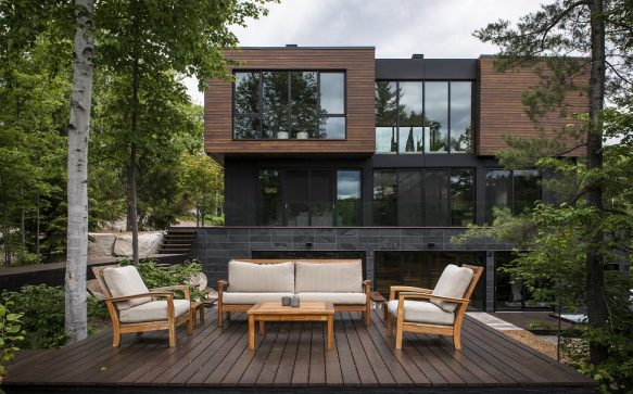 Architecture et nature: l'accord parfait