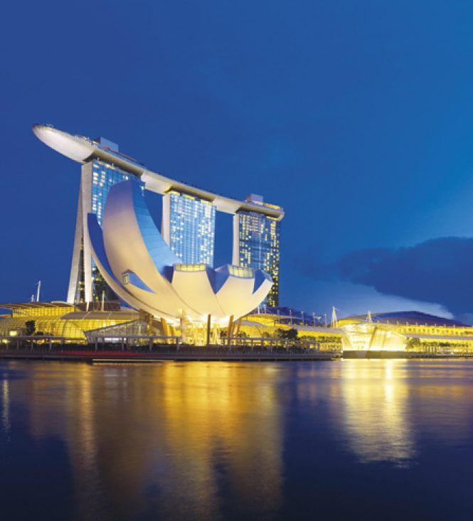 Marina Bay Sands Hotel, beauté démesurée