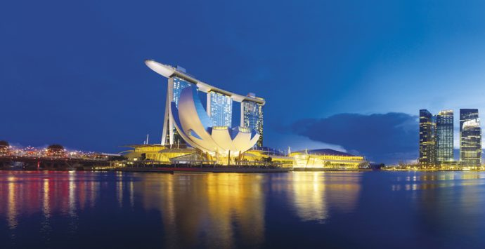 Marina Bay Sands Hotel, immoderate beauty