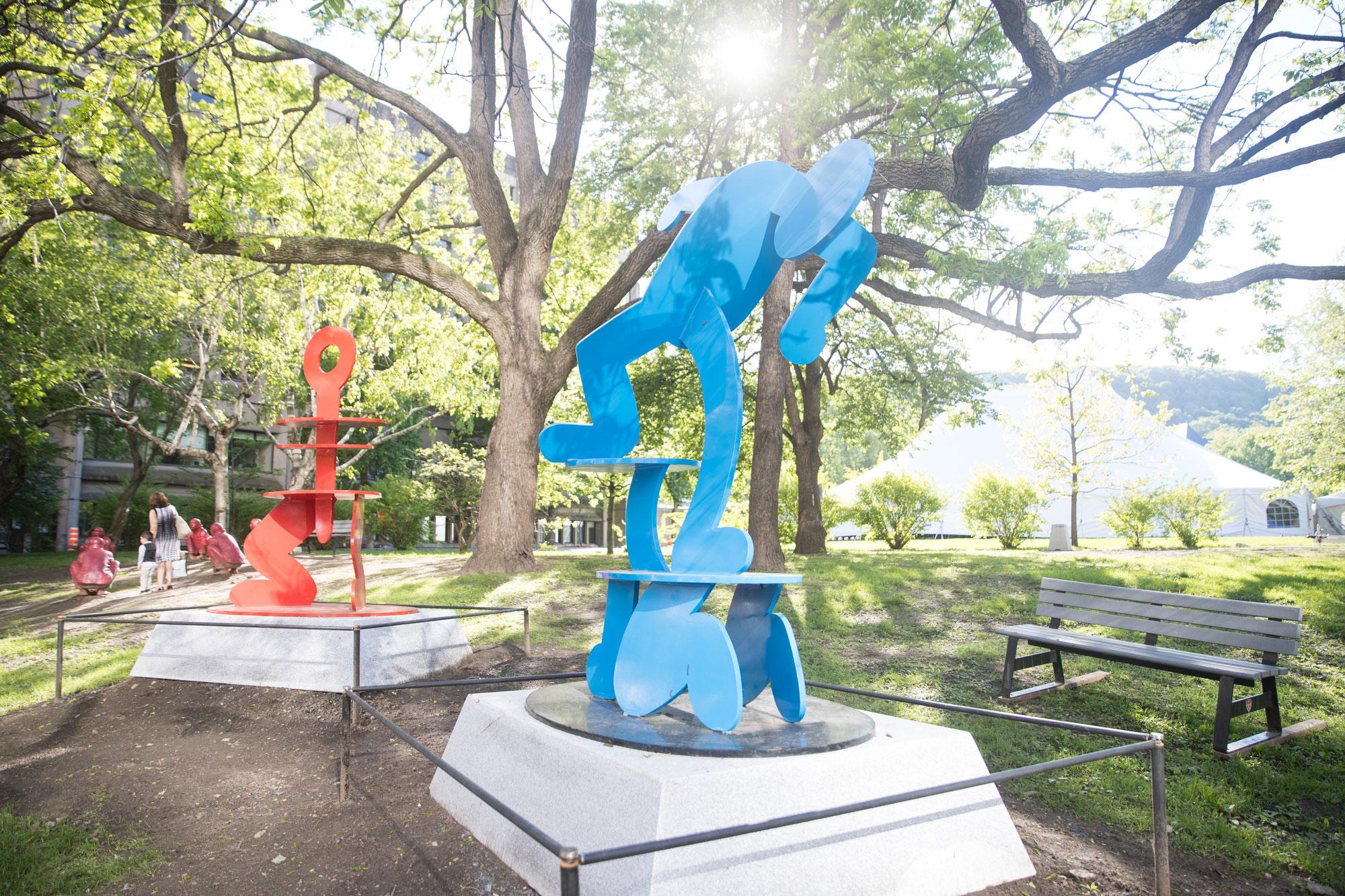 La balade pour la paix, un musée à ciel ouvert