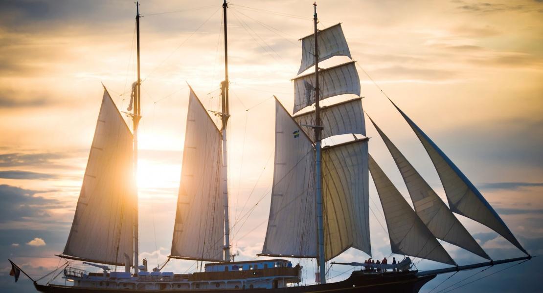 De grands voiliers à Québec et Lévis