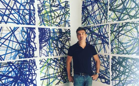Dans l'atelier de Xavier Roux