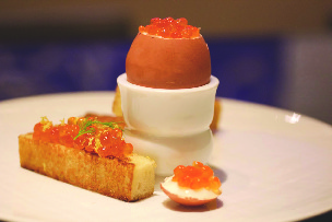 3.soft-boiled-eggs-with-salmon-roe