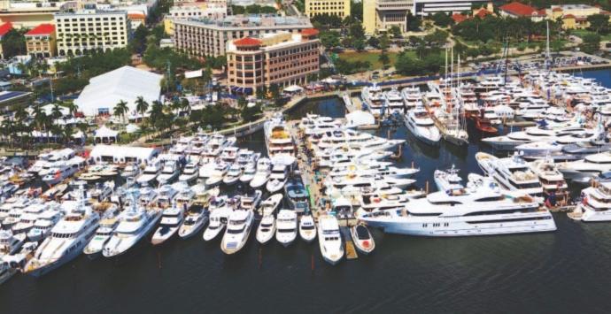 Des yachts encore plus imposants au Salon Nautique 2017 de Palm Beach, en Floride