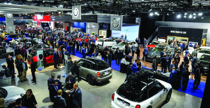 The 2018 Montréal International auto show