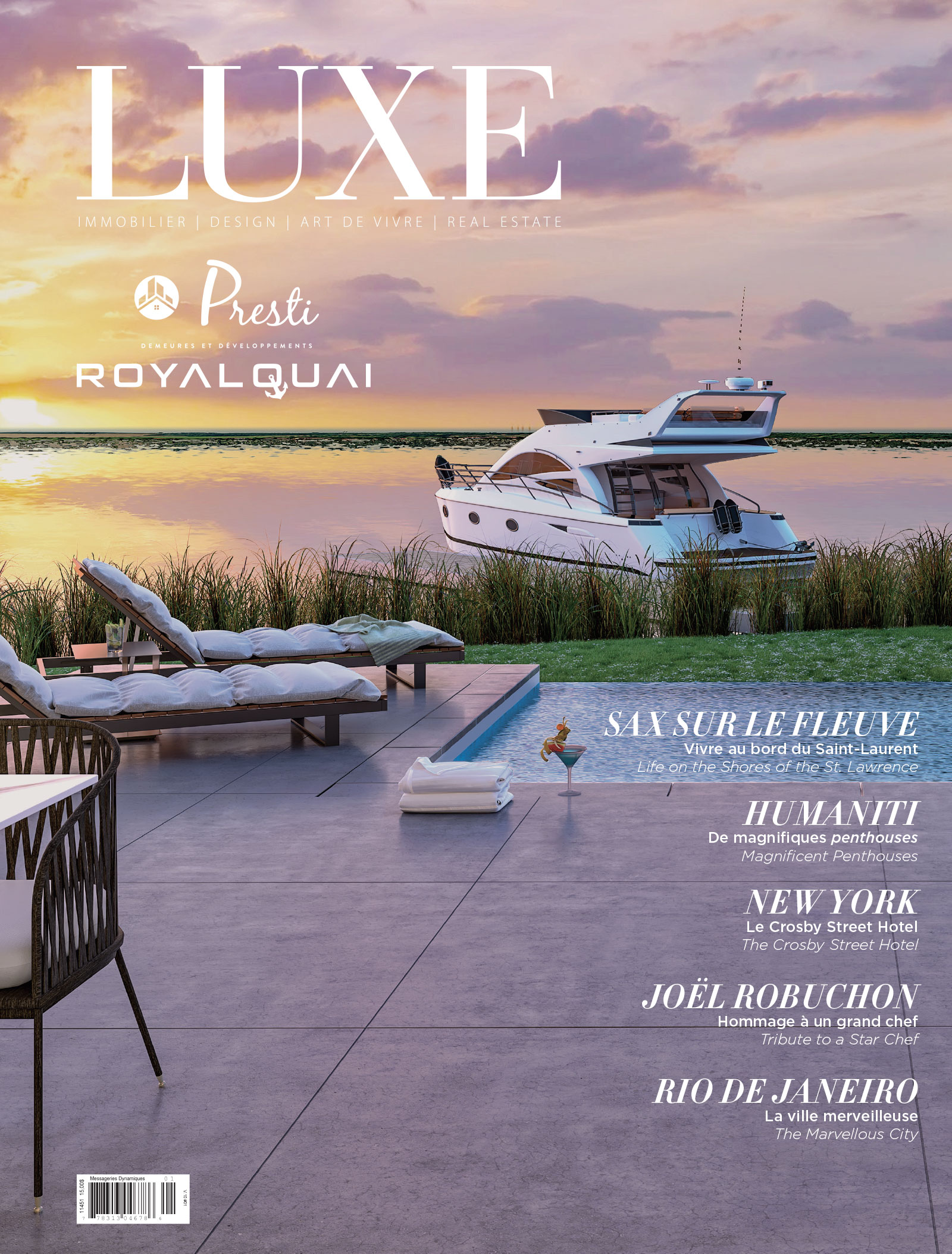 Cover Luxe ÉDITION ROYAL QUAI