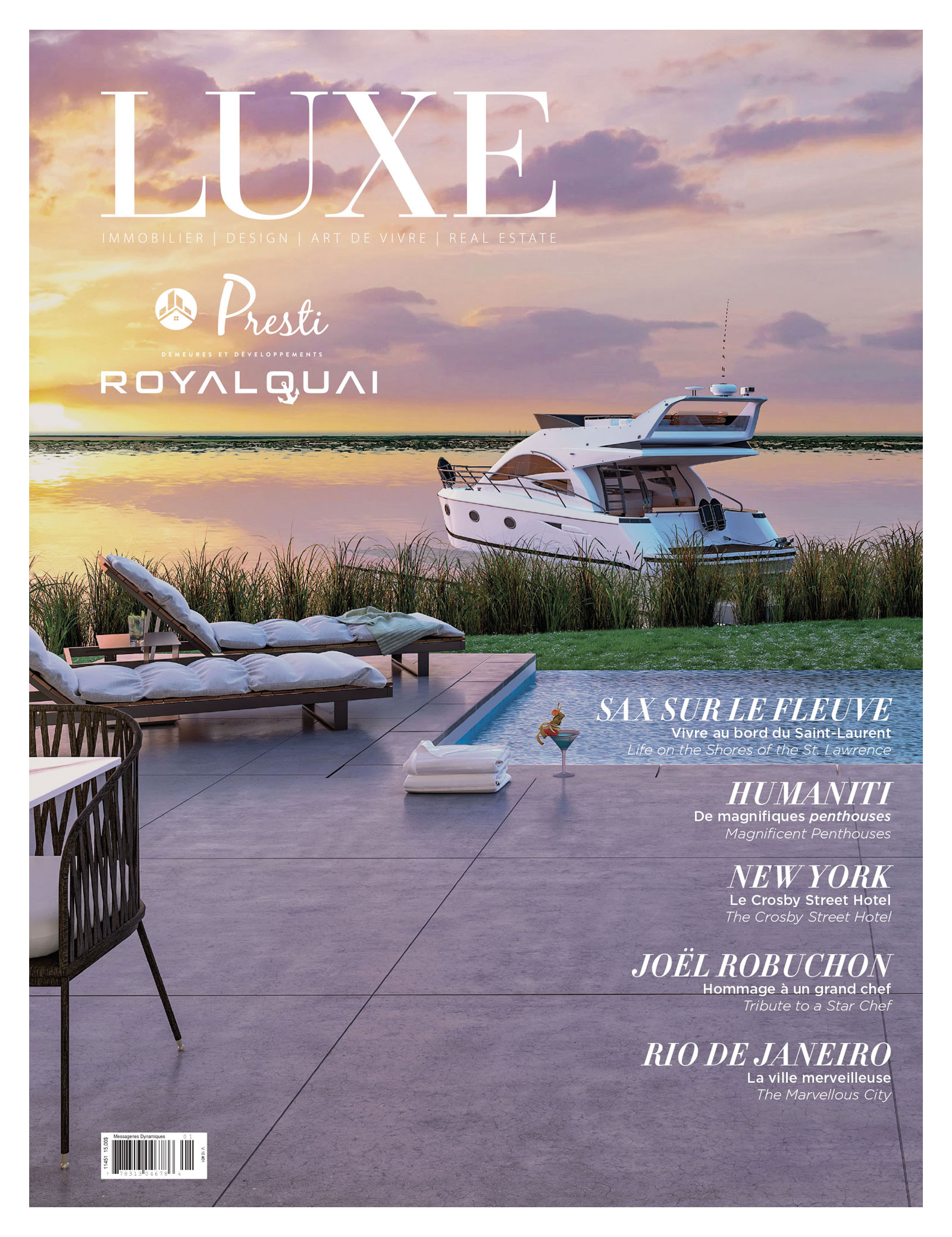Cover Luxe Automn-winter 2018