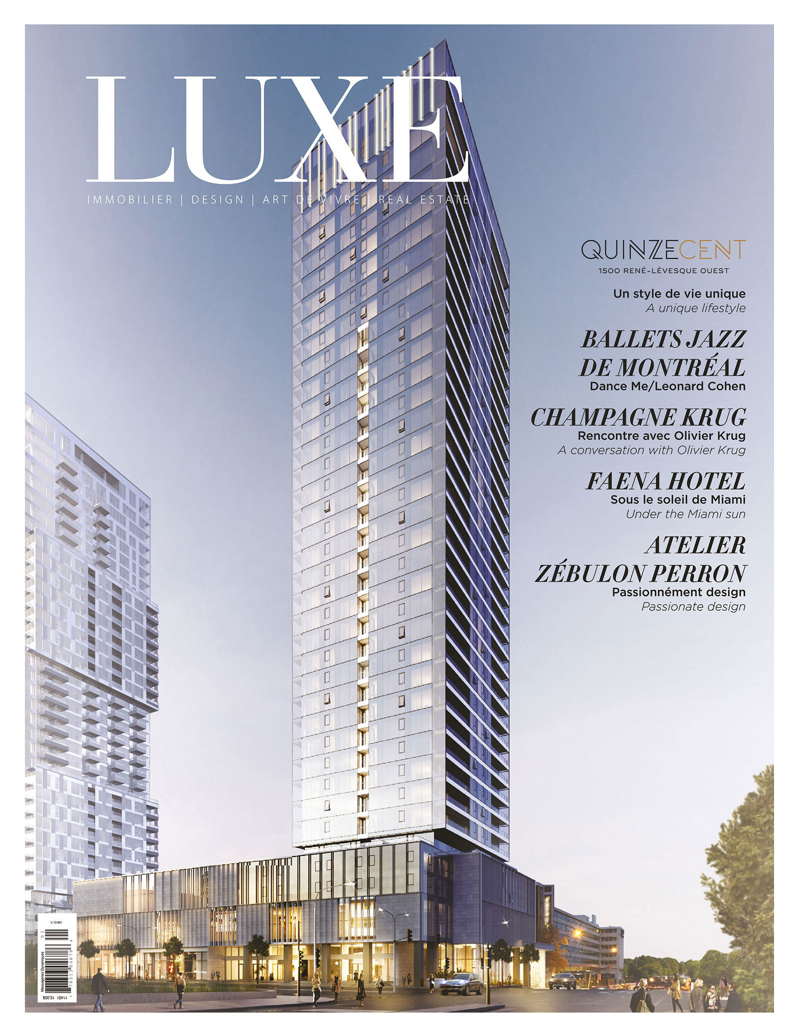 Cover Luxe Quinzecent Edition
