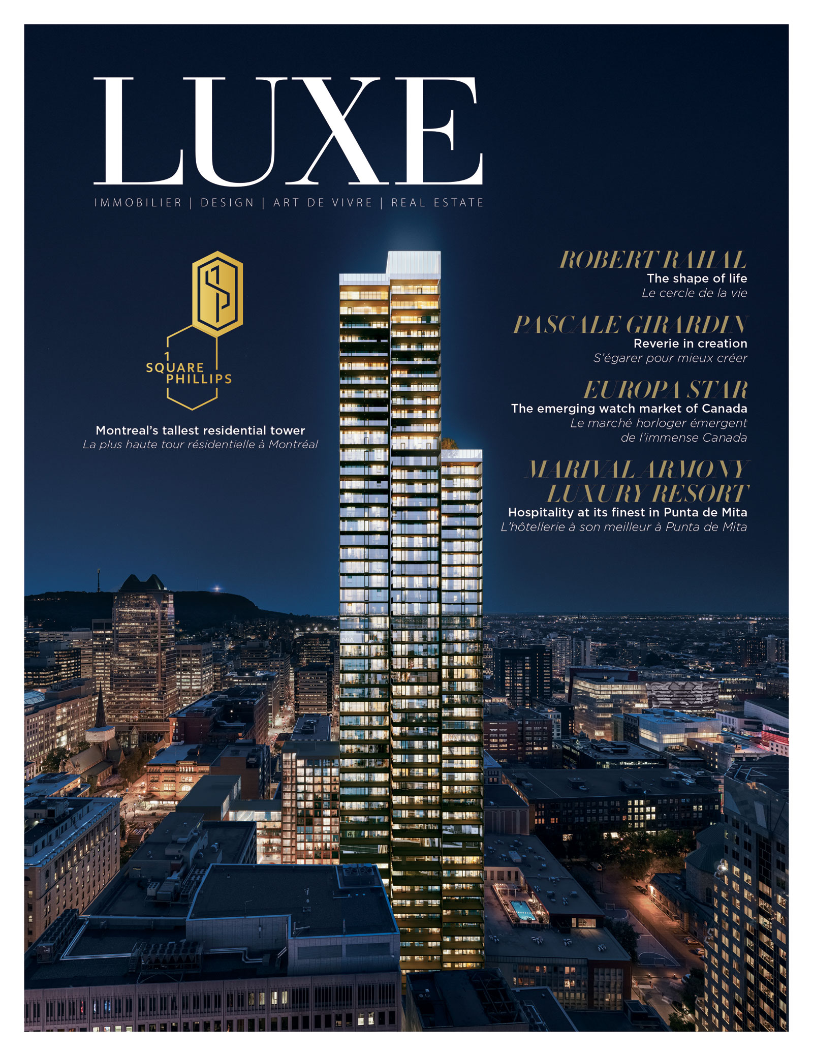 Cover Luxe Square Phillips Edition